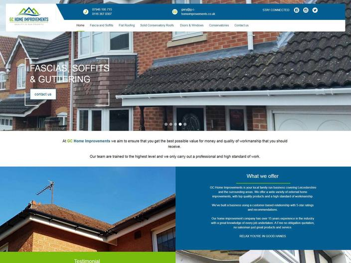 Affordable responsive web design in Hinckley and across Leicestershire